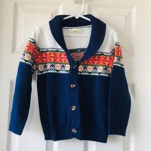 Boy Sweater Cardigan